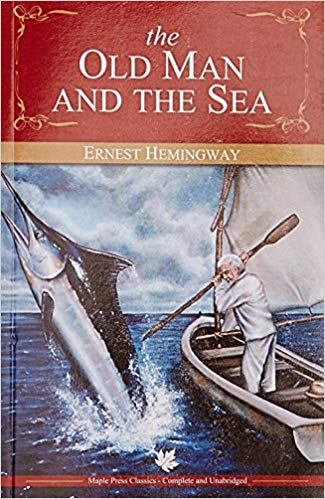 old man and the sea novel cover