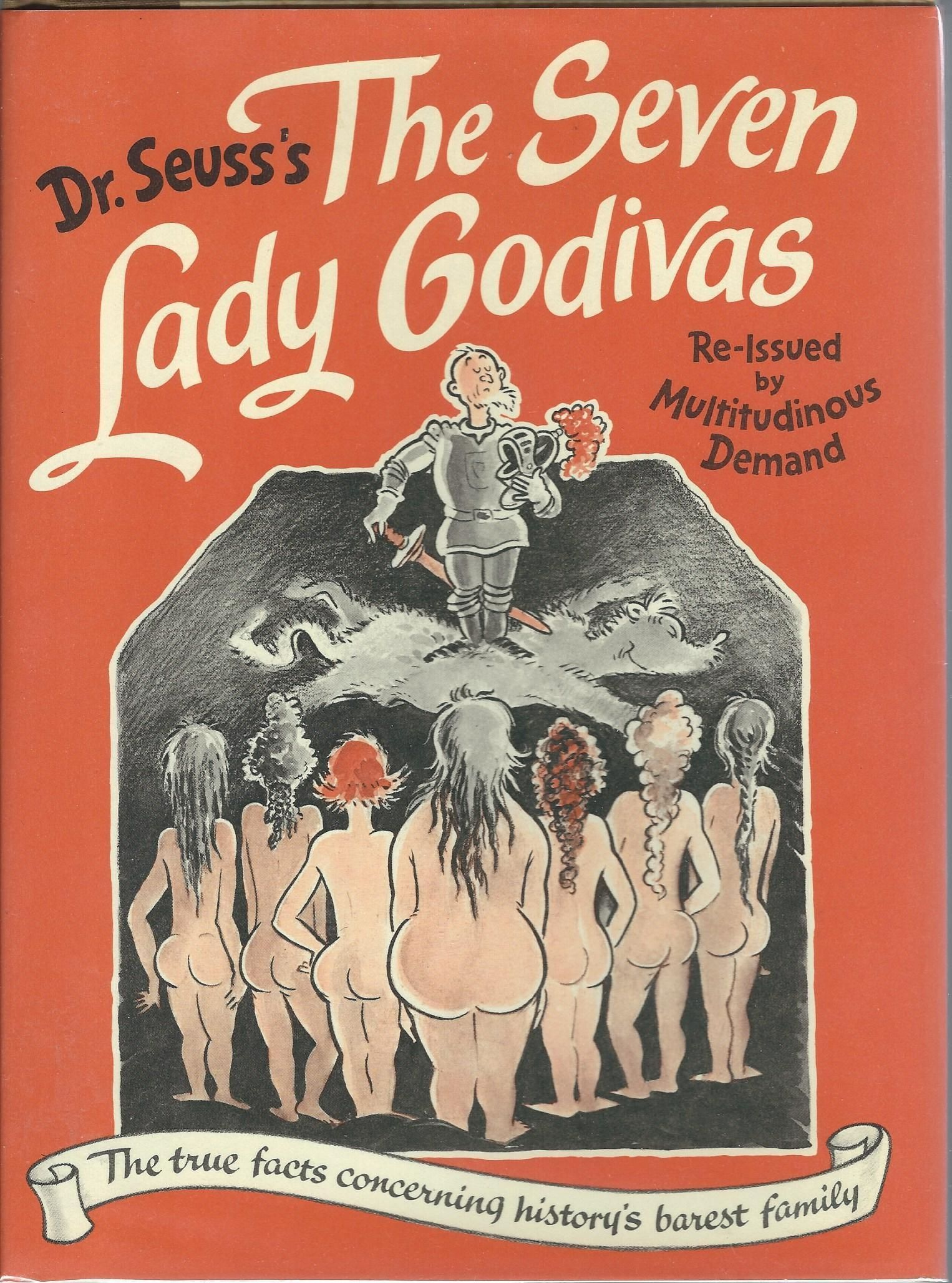 the book cover of the seven lady godivas novel