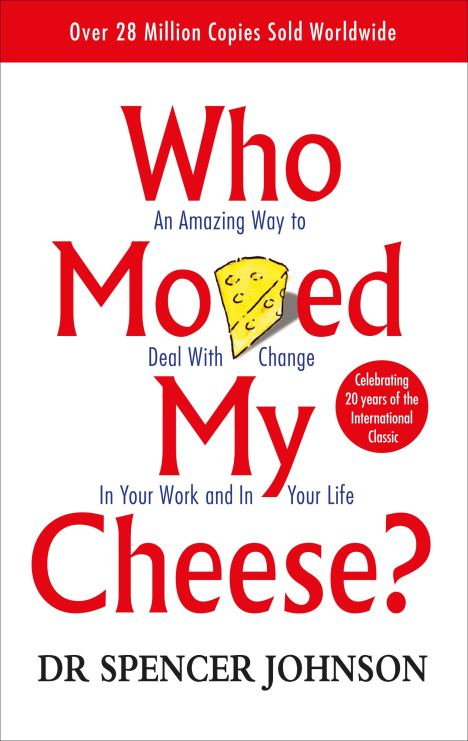 book cover of who moved my cheese