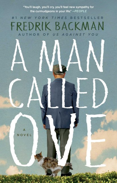 picture of the cover of a man called ove
