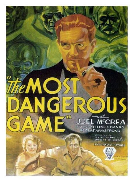 the poster of the movie the most dangerous game