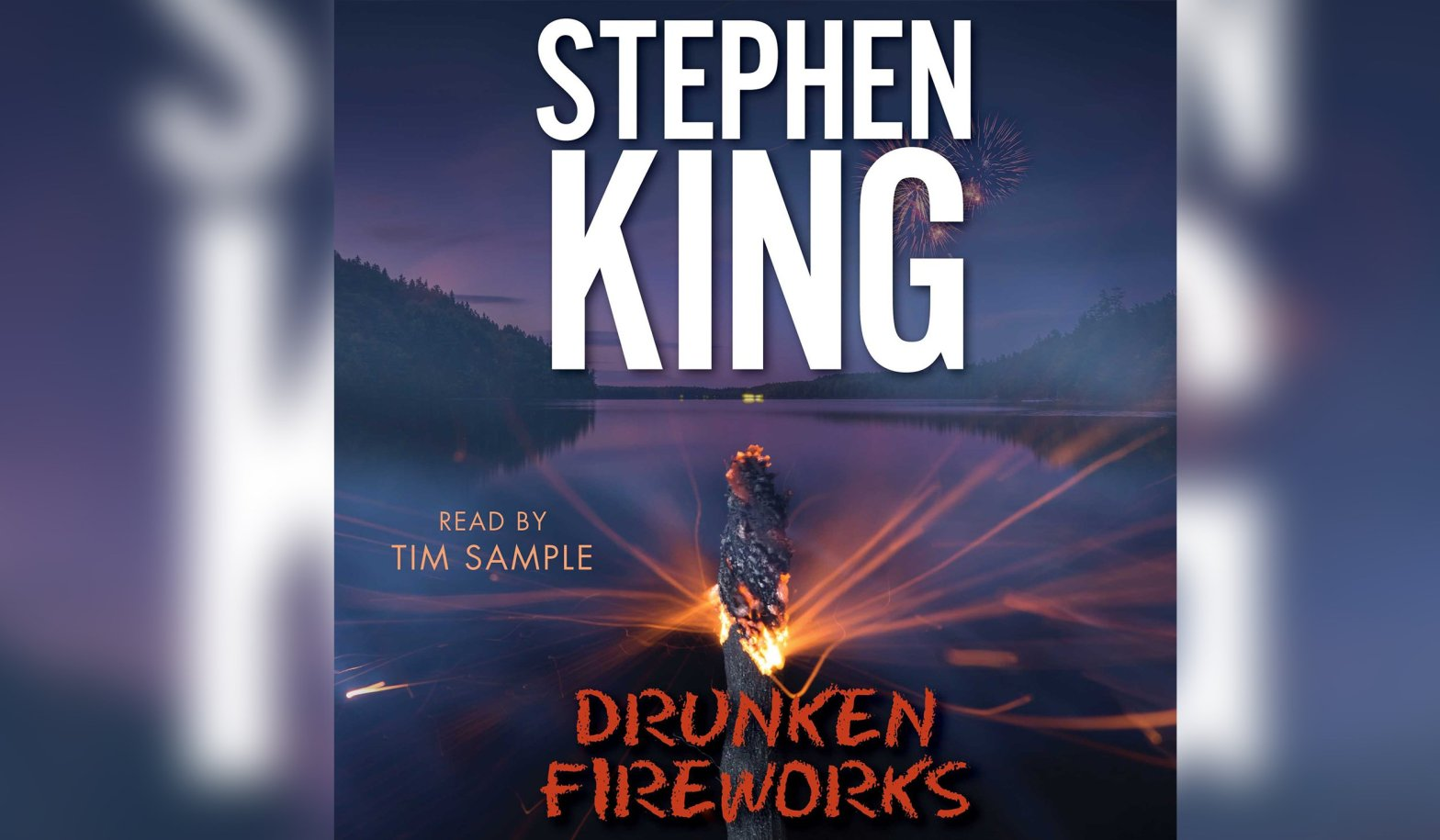 cover of drunken fireworks by stephen king